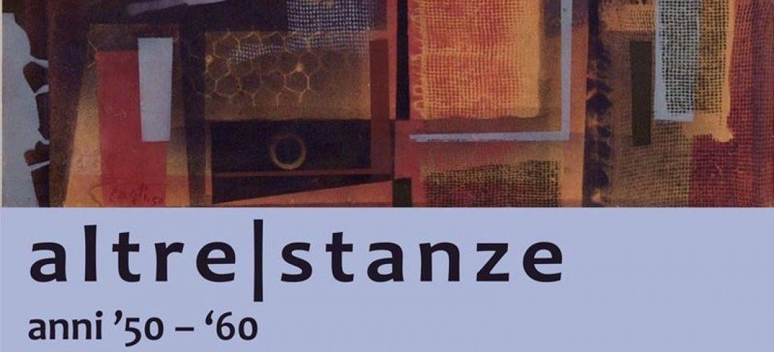 """Alla Fondazione Sant-Elia fino al 28 febbraio la mostra""""Altre Stanze anni '50 e '60""""."""