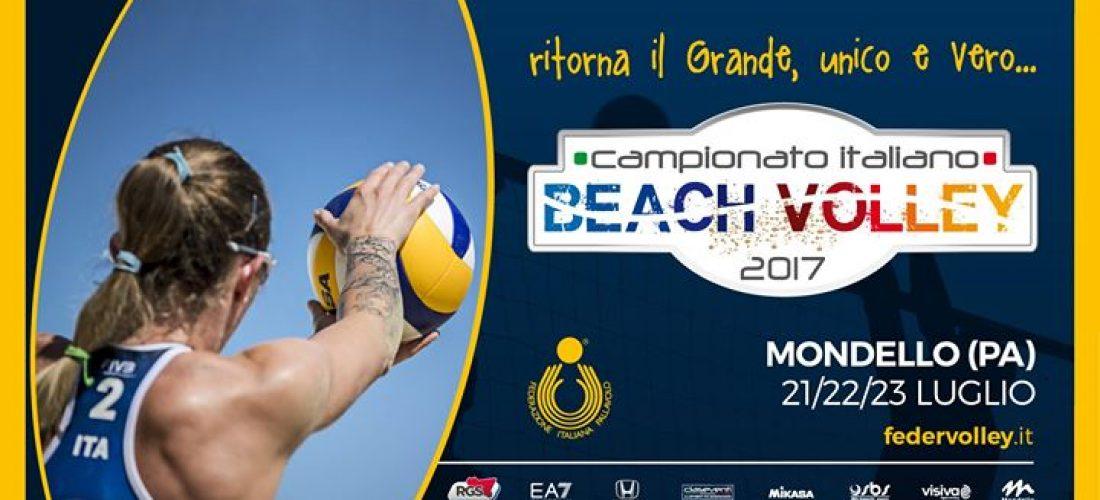 A Mondello i big del beach volley per la terza tappa del Campionato Italiano 2017