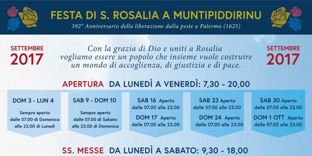 Celebrazioni per Santa Rosalia