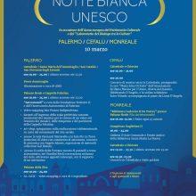 """Percorso Unesco: il 10 Marzo """"Notte Bianca"""" tra Palermo, Cefalù e Monreale"""